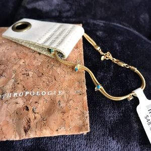 Dainty Gold Anthropologie Bracelet - NWT